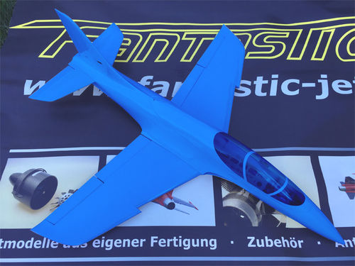 Mini Avanti S ARF Sportjet with retract, without EDF and electronic,special Edition blue monochr