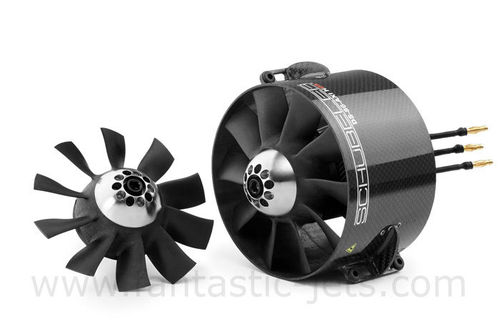 Schuebeler DS-86-AXI-HDS 10 Blade FAN, FANFIX and HET 800-68-685 12S