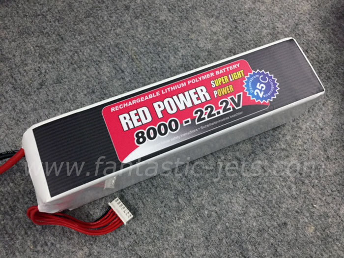 Red-Power-6S-8000mAh